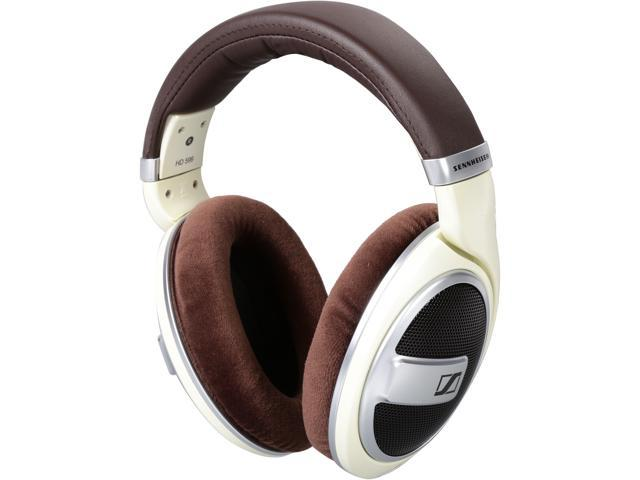 Sennheiser HD599 Open Back Around-Ear Headphones - Ivory