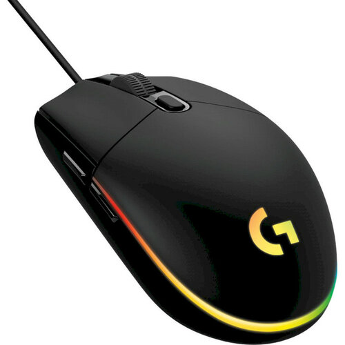 Version Logitech G102 LIGHTSYNC Wired Gaming Mouse 6 Buttons 8000DPI Black