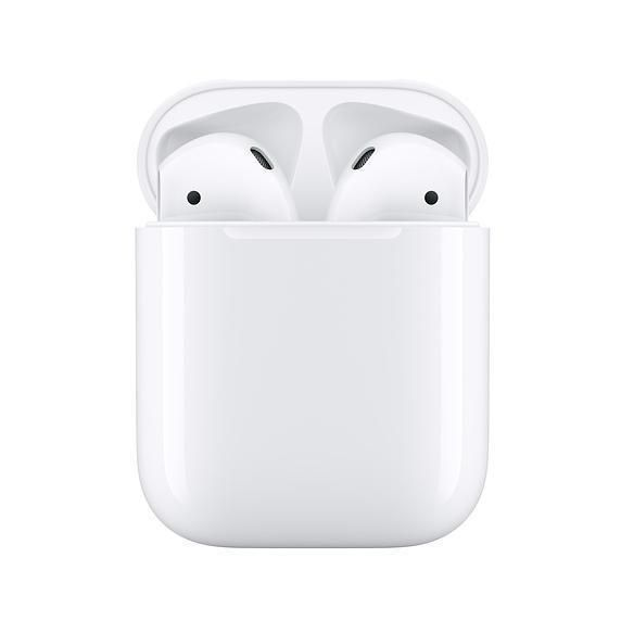 Apple AirPods 2nd Generation Bluetooth Headphones With Wired Charging Case