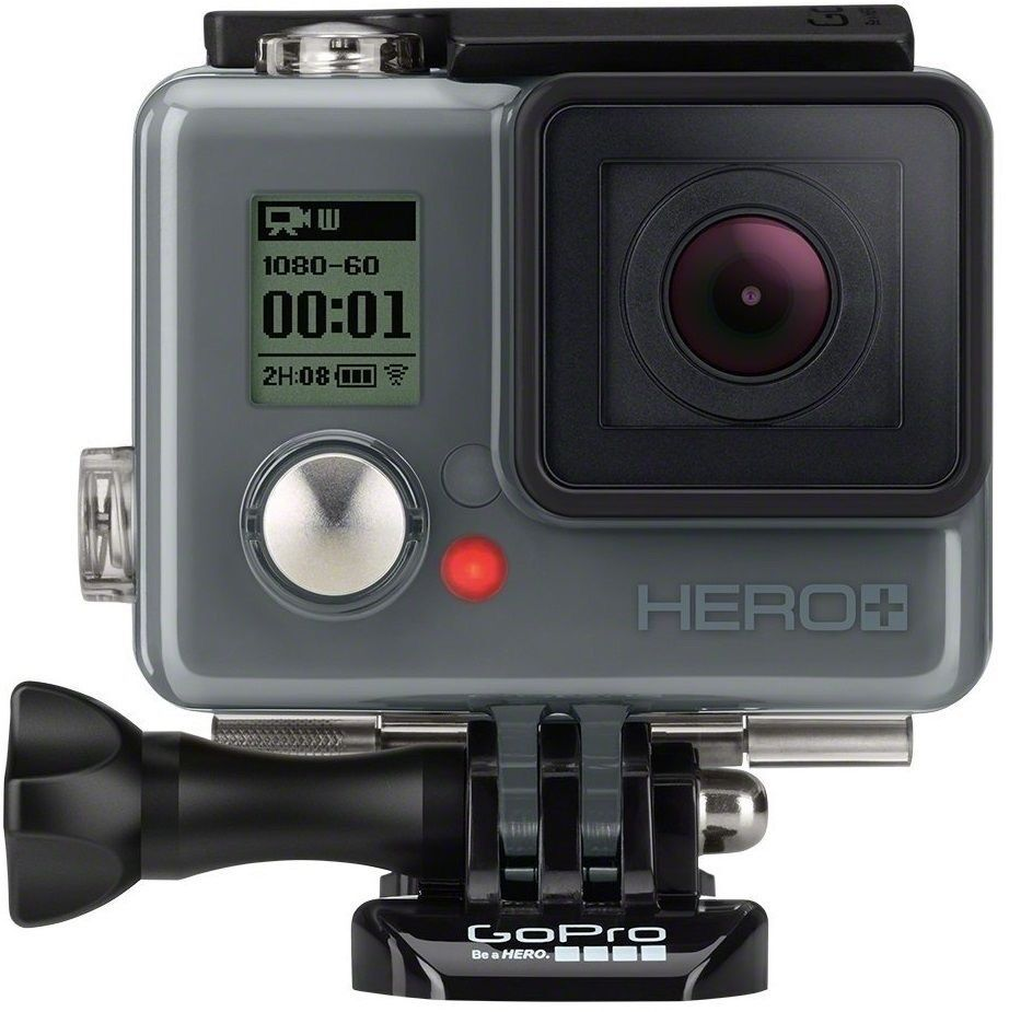 GOPRO HERO+ LCD plus TouchScreen HD Waterproof 8MP/1080p NEW +WARRANTY CHDHB-102