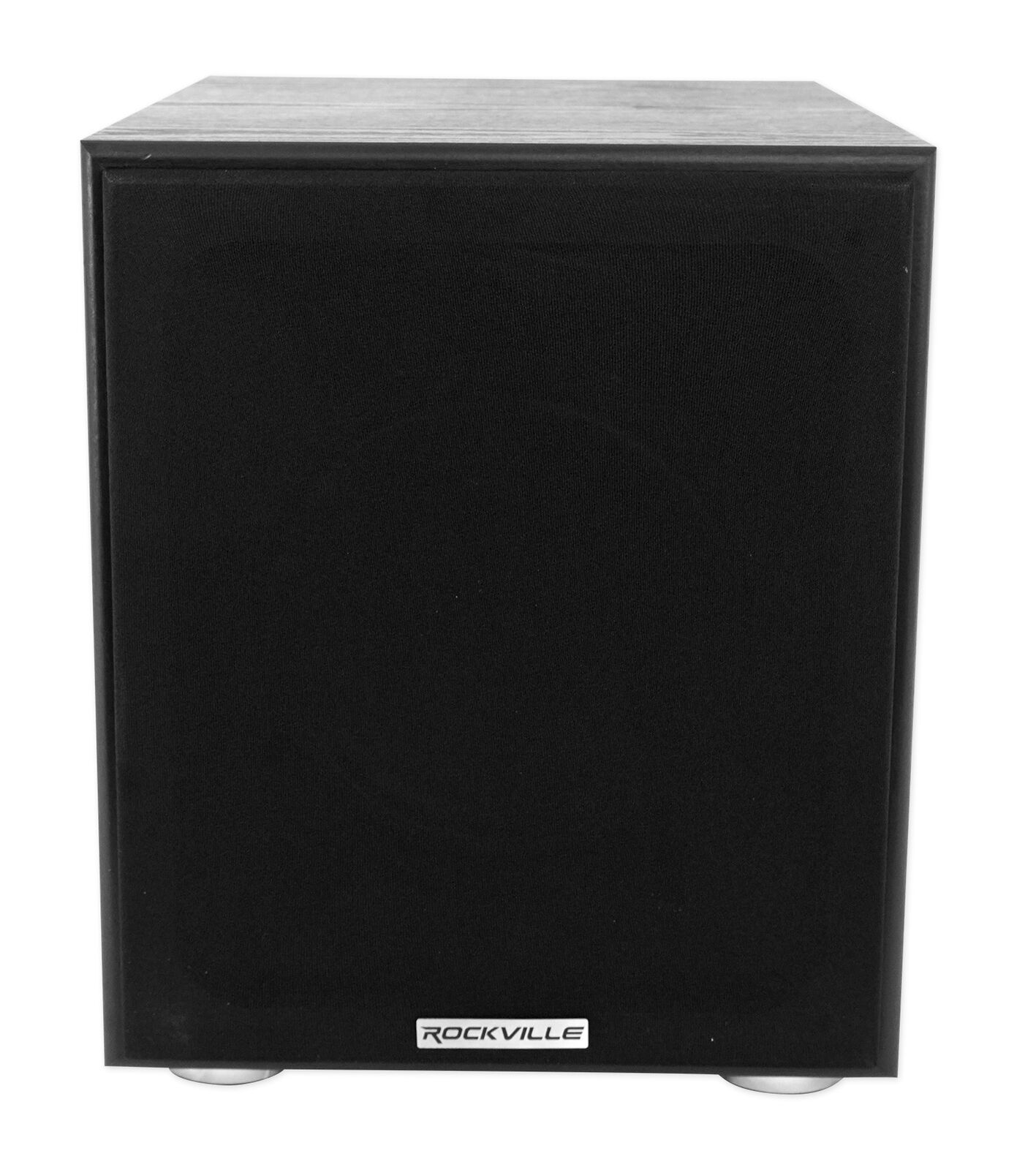 "Rockville Rock Shaker 8"" Inch Black 400w Powered Home Theater Subwoofer Sub"